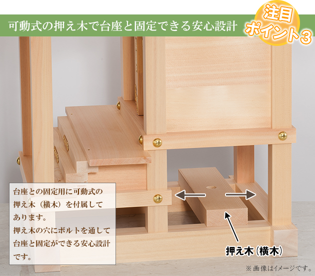 外宮 板宮造り(木印) 1.5尺