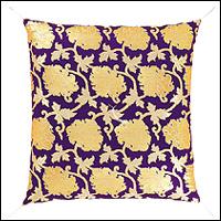正絹牡丹 紫