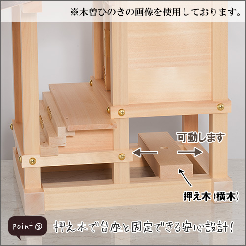 外宮 けやき流れ屋根造り(木印) 1.2尺