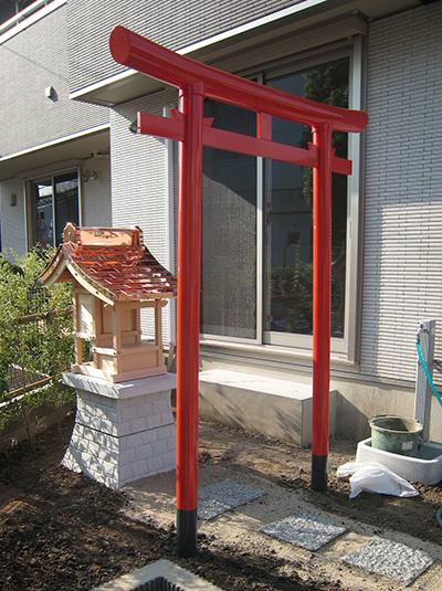 鳥居の施工・設置実績例04