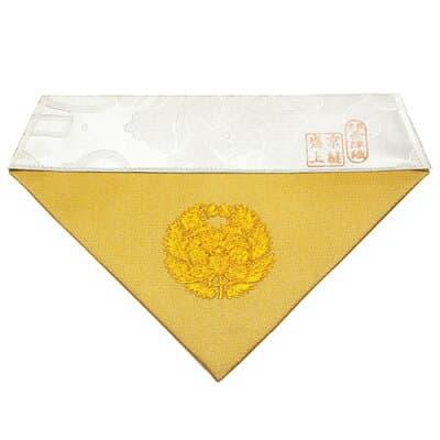打敷 抱き牡丹紋入り 30代 巾18cm